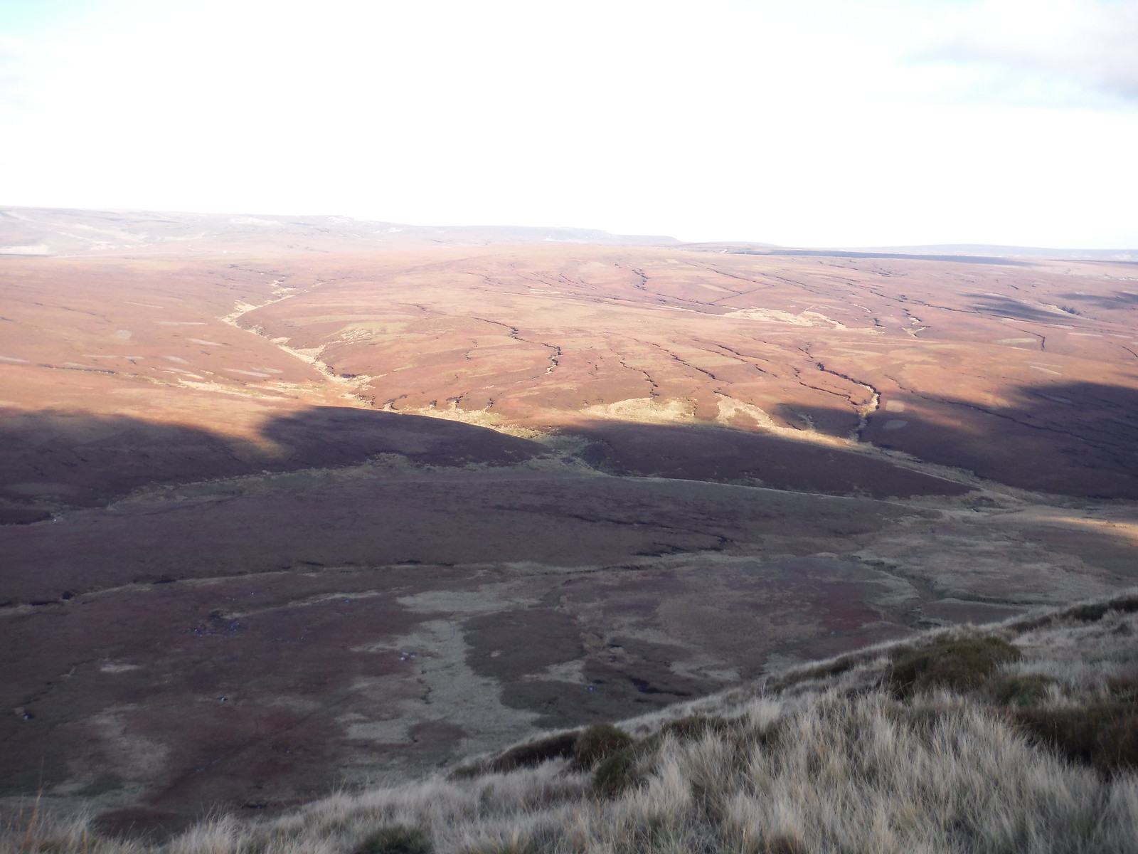 Shadowplay (Black Ashop Moor) SWC Walk 304 - Kinder Scout Circuit (from Edale)