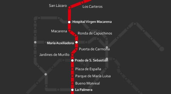 linea 3 metro sevilla