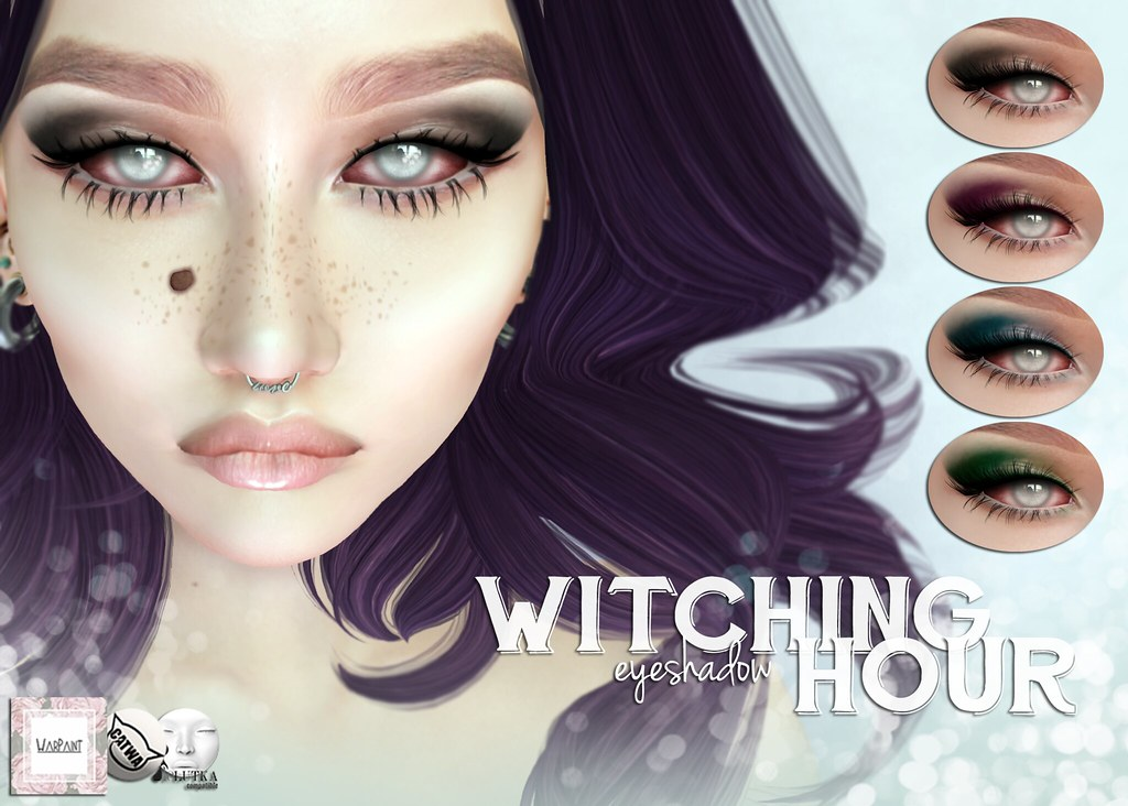 WarPaint* @ Season of the Witch - Witching hour eyeshadow - TeleportHub.com Live!