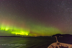 Aurora from the Nordlys (Oct 22, 2017) #4