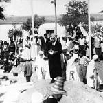 lancement des travaux de réalisation de la mosquée de Colbert ex Ain Oulmène en construction,1934-1936
