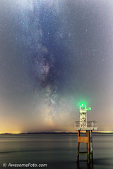 Milky Way with Lighthouse (1)