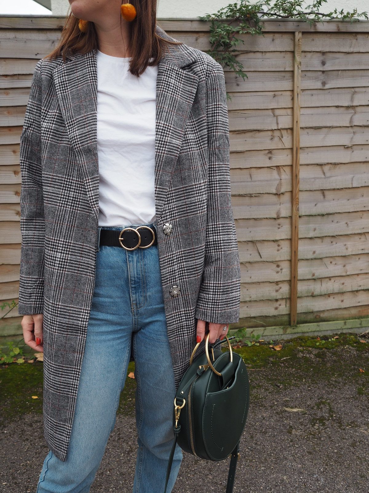 Checked Coat Trend | Hannah and The Blog
