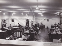 LOC Personnel Section office, Langford Lodge 1942/43