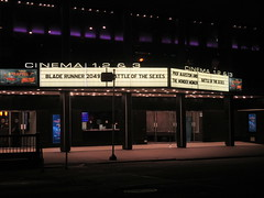 Blade Runner 2049 Theater Marquee 2017 NYC 2313