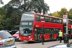 Metrobus / London Central WVL223 (LX06 DZF) on route 161 at Chislehurst War Memorial