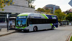 Montgomery County Transit Ride On extRa 2017 Gillig Low Floor BRT Plus Diesel #44056D