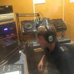 Archipelago, Flame Proof Moth & LOFE performing live in session on The deXter Bentley Hello GoodBye Show on Resonance 104.4 FM in Central London on Saturday 14th October 2017