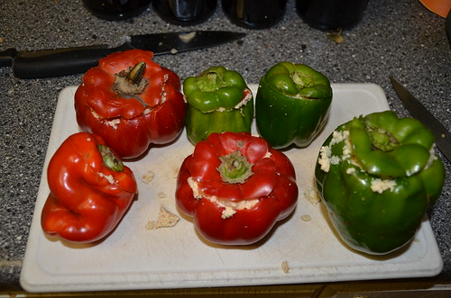 stuffed peppers Oct 17