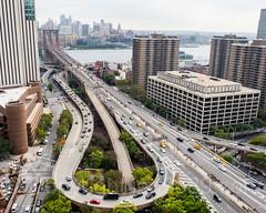 Brooklyn Bridge Access Roads, Lower Manhattan, New York City
