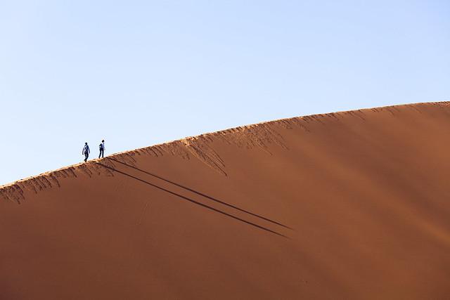 Dune 45 / Düne 45 (Sossusvlei/Namibia)