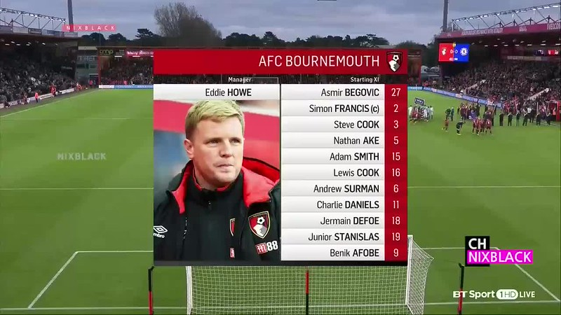 Bournemouth vs Chelsea (0-1) - All Goals & Highlights 28-10-2017 HD