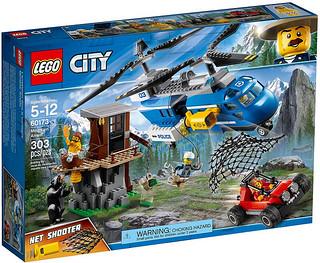 全新的黑熊跟裸體胸毛大叔太有趣啦~~LEGO 60173、60179、60180、60181、60182、60183 城市系列 2018年上半部分盒組 Part 1 !!