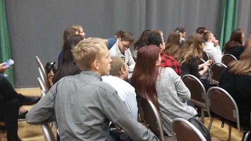 Vilniaus verslo ir turizmo mokykloje vyko renginys