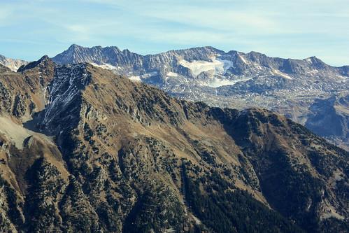 Le Pic de l'Étendard et les glaciers des Grandes-Rousses