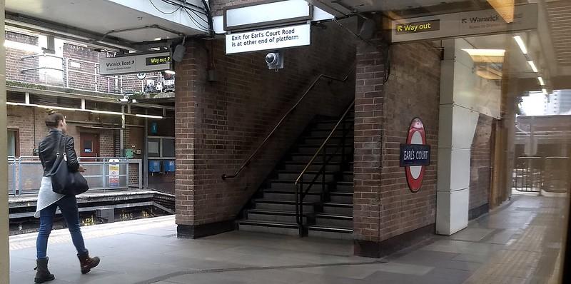 Earls Court station, London Underground