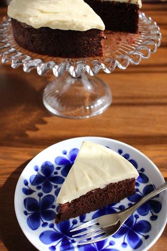 ギネスビールのチョコレートケーキ