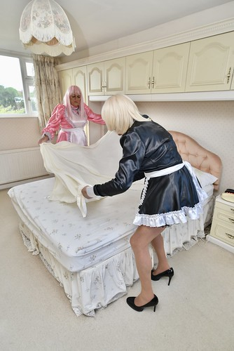Sissy maids at The Sissy Retreat