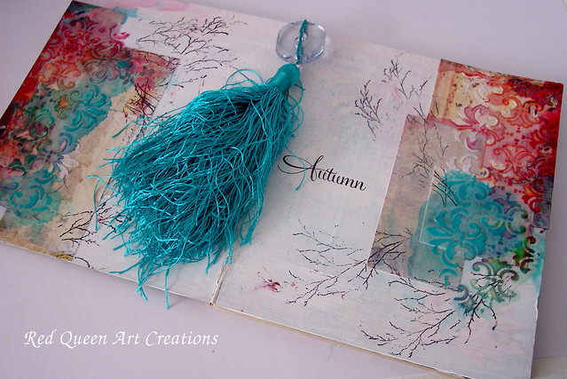 autumn art journal pages 3