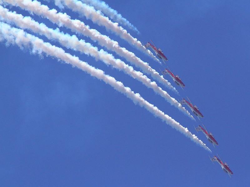IMG_4552 Canadian Forces Snowbirds, Huntington Beach Air Show