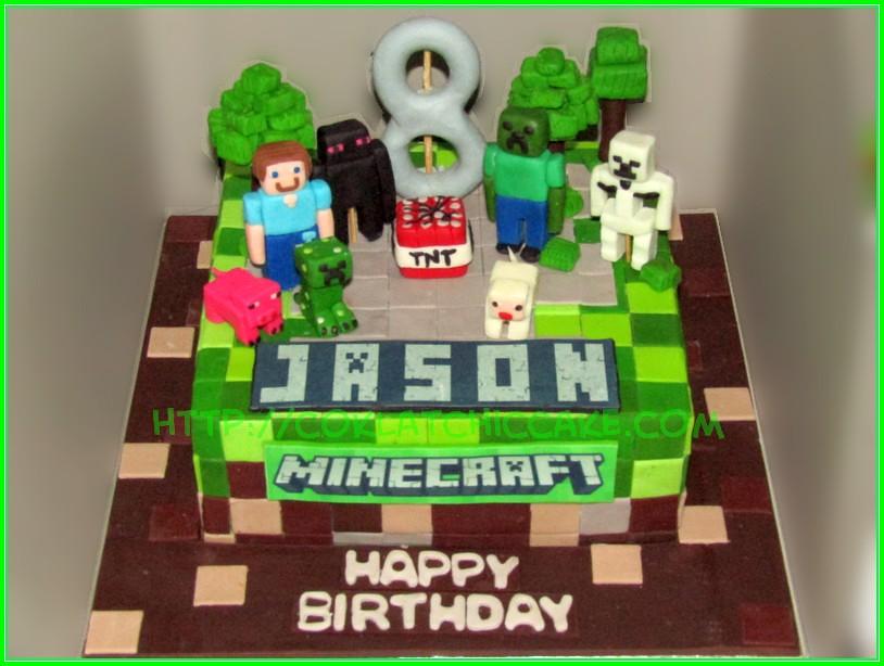 Cake minecraft Jason