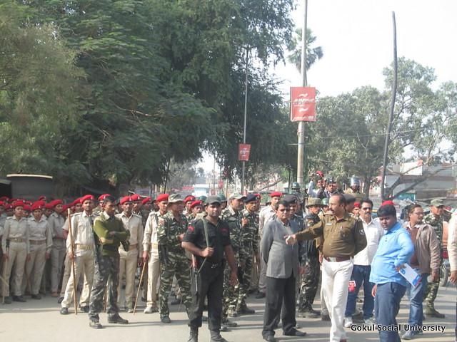 Bihar North Koel Kutaku Dam - Police and Jail