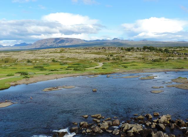 Almannagjá, Þingvellir National Park, Southern Iceland