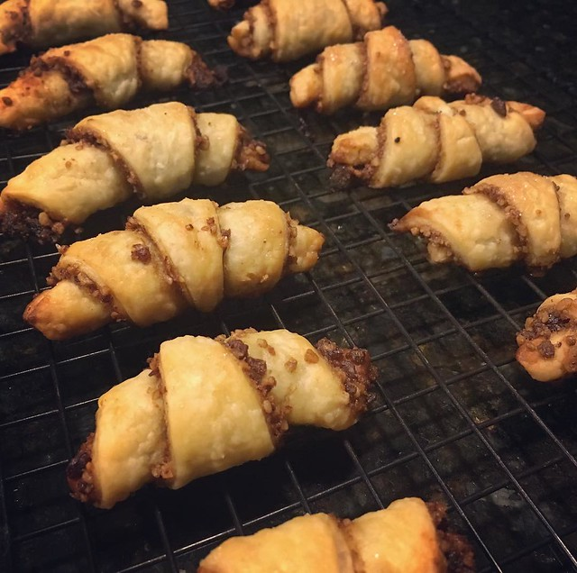 This month's #bakealong is #rugelach. #kingarthurflour