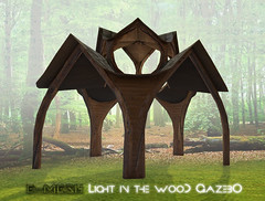 E-mesh: Light in the woods Gazebo