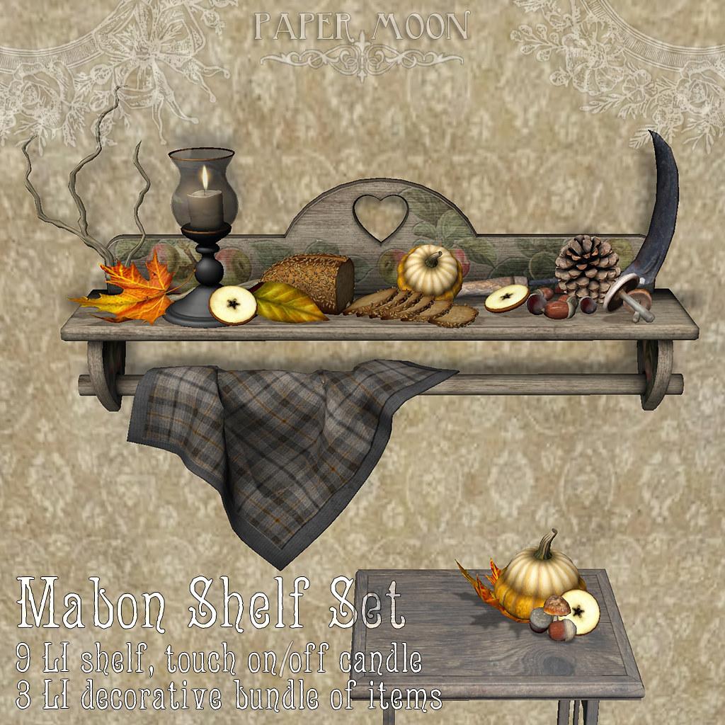 *pm* Mabon shelf set poster
