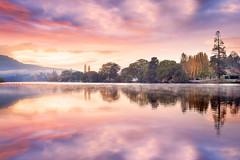 New Norfolk Fall Sunrise || RIVER DERWENT || TASMANIA
