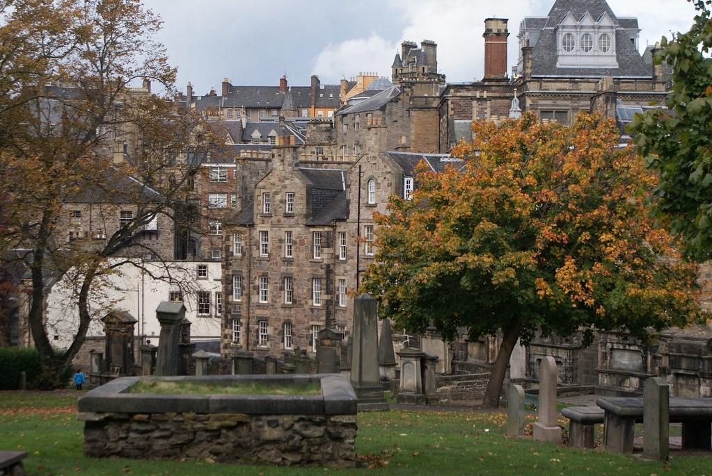 CimetièreGreyfriars Kirkyard à Edimbourg