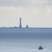 Out to sea...fishing boat and Eddystone Lighthouse