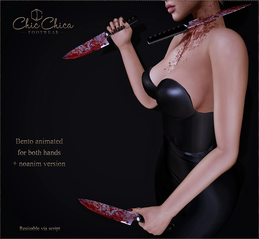 Bloody knives by ChicChica for Once Upon a Nightmare event