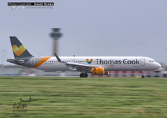 Thomas Cook G-TCDE Airbus A321 Rainbow Heart