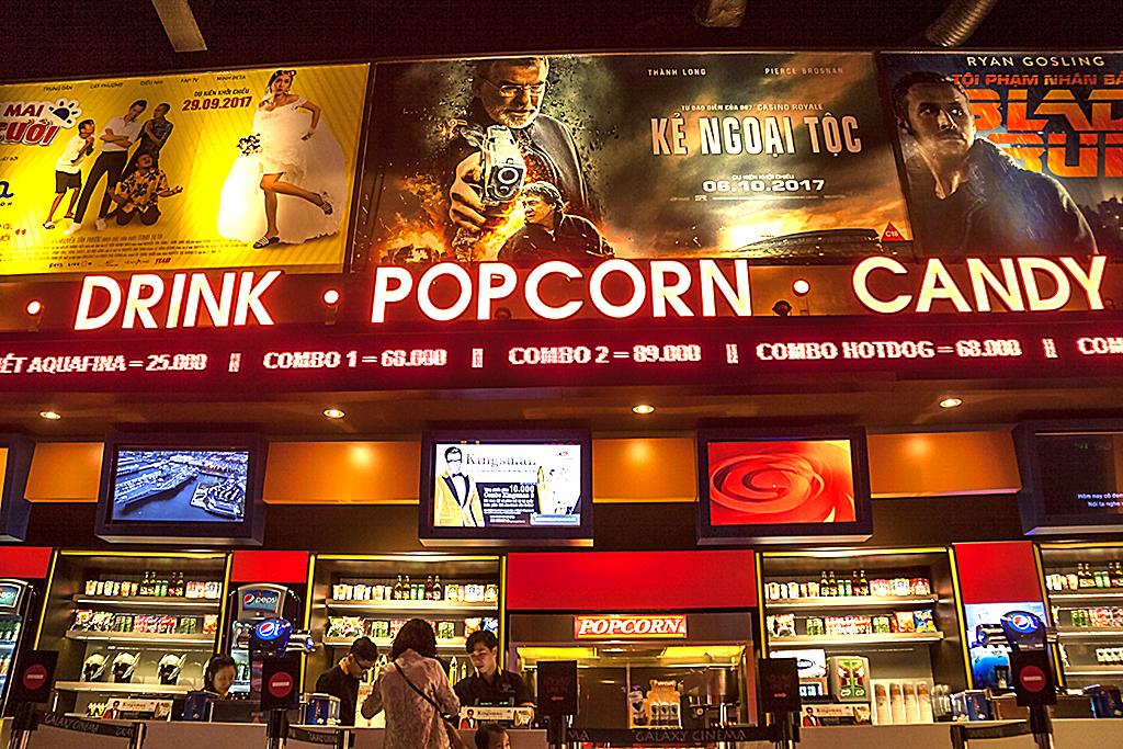 Galaxy movie theater--Saigon