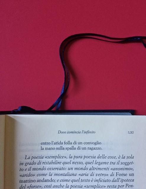 Sandro Penna, Poesie, prose e diari. Mondadori, i Meridiani; Milano 2017. Resp. gr. non indicata. Titolo di parte del testo: in capo al testo, centrato: a pag. LXI [part.] [part.].