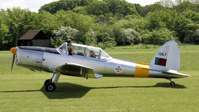 OY-ATF/WD319 de Havilland Canada DHC-1 Chipmunk 22A (C1/0256) at Old Warden on 22/05/16