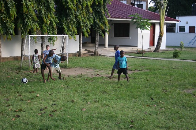 A game of football