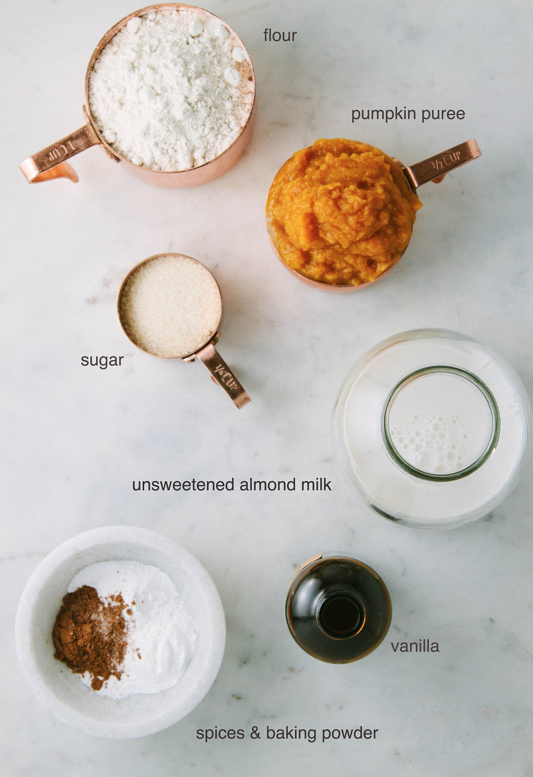 PUMPKIN PANCAKE INGREDIENTS