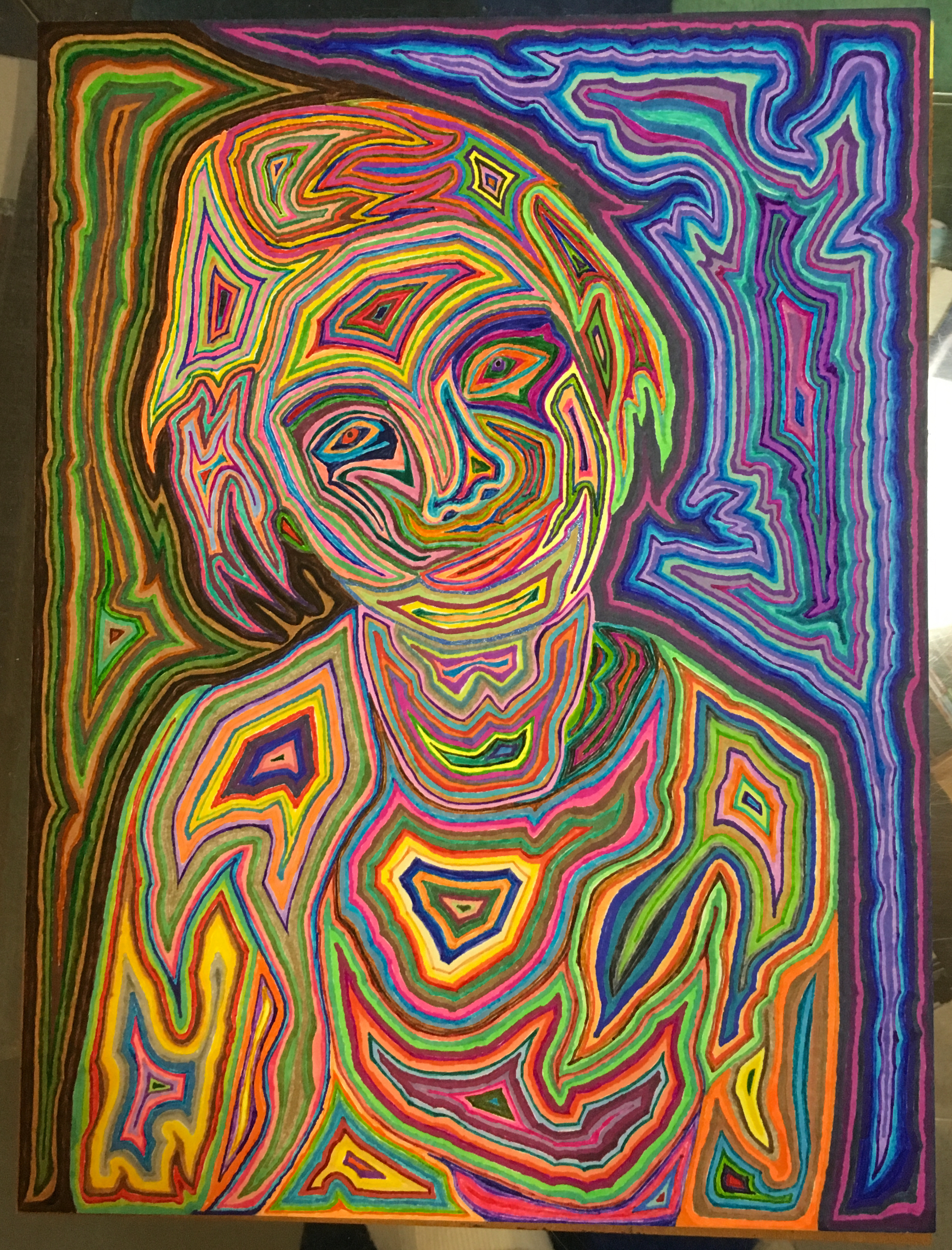 Psychedelic Portrait 1