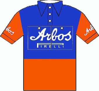 Arbos - Giro d'Italia 1954