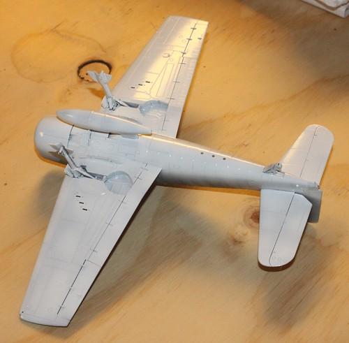 """Grumman F6F-3 Hellcat, """"Vit 19 Vraciu"""", Eduard 1/48 - Sida 2 36805479804_514c679222"""