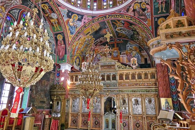 Tradizioni e cultura sull'isola di Rodi church - kerk in Siana