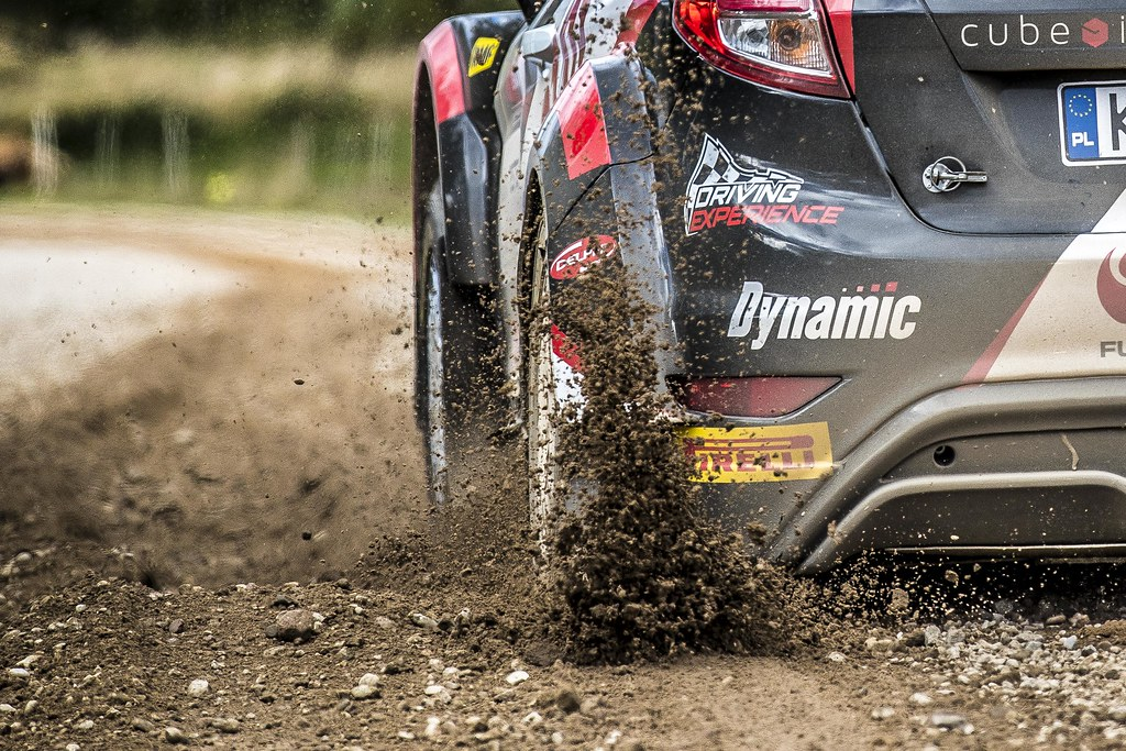 01 Kajetanowicz Kajetan and Baran Jarosław, Lotos Rally Team, Ford Fiesta R5 action during the 2017 European Rally Championship ERC Liepaja rally,  from october 6 to 8, at Liepaja, Lettonie - Photo Gregory Lenormand / DPPI