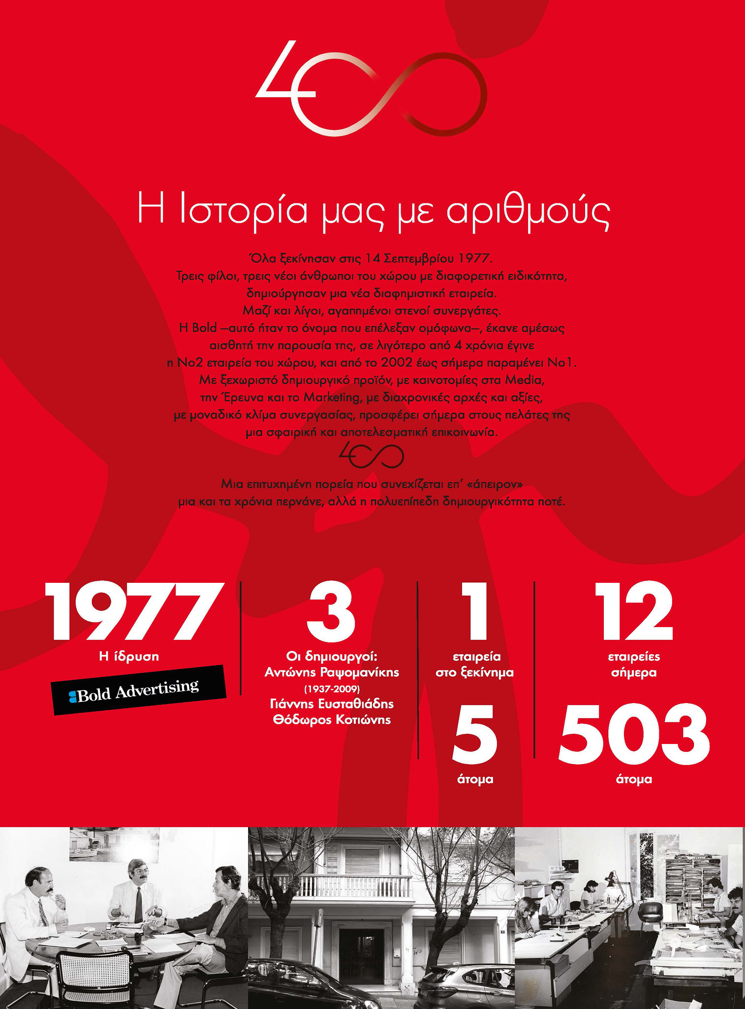 Bold Ogilvy 40 Years