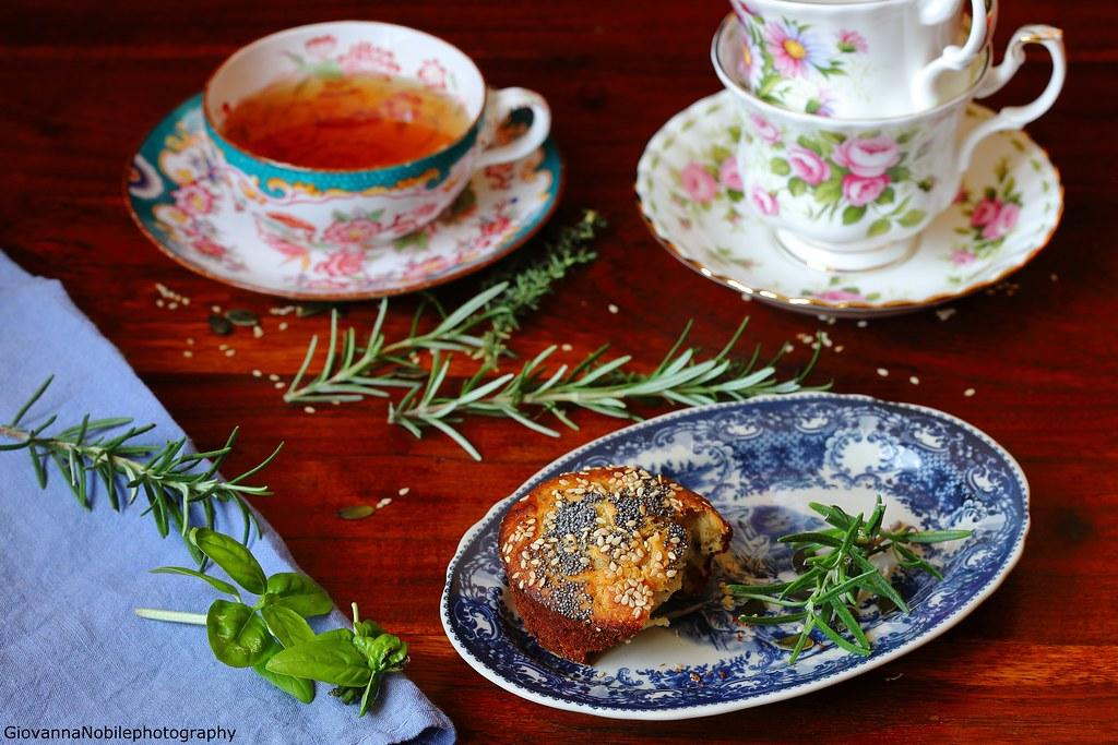 Tortine con miele, rosmarino e noci 4