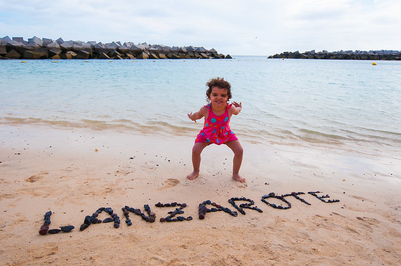 Playa Flamingo en Lanzarote