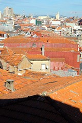 Churches and roofs of Porto