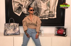 Looks Like Rihanna Finally Gets Her Money From The B*tch, New Pic Inspired Meme